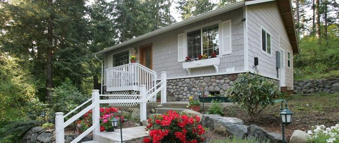 A Hidden Haven & Water Garden Cottages - Port Angeles - Bygning